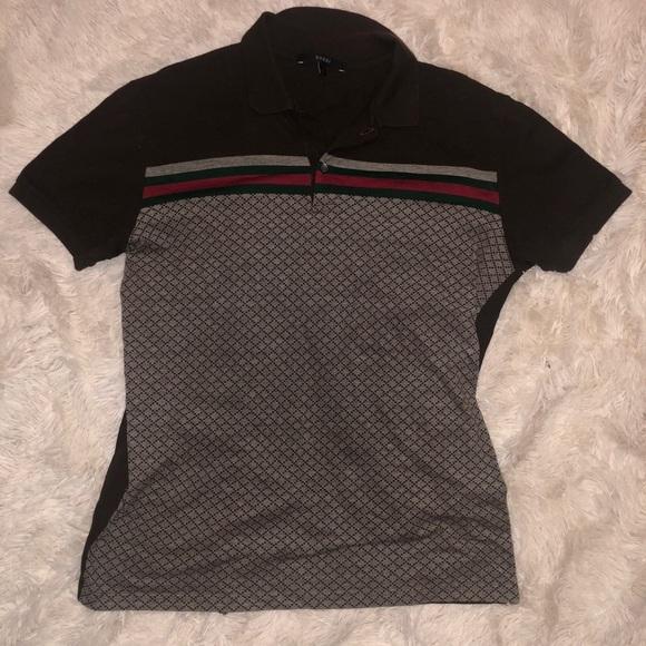 a7ffba8cf2c Gucci Tops - Authentic Gucci Classic Button Polo Shirt